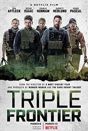 Triple Frontier Türkçe Dublaj izle   HD