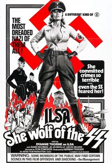 Ilsa: She Wolf of the SS 1975 Nazi Sex Filmi İzle tek part izle